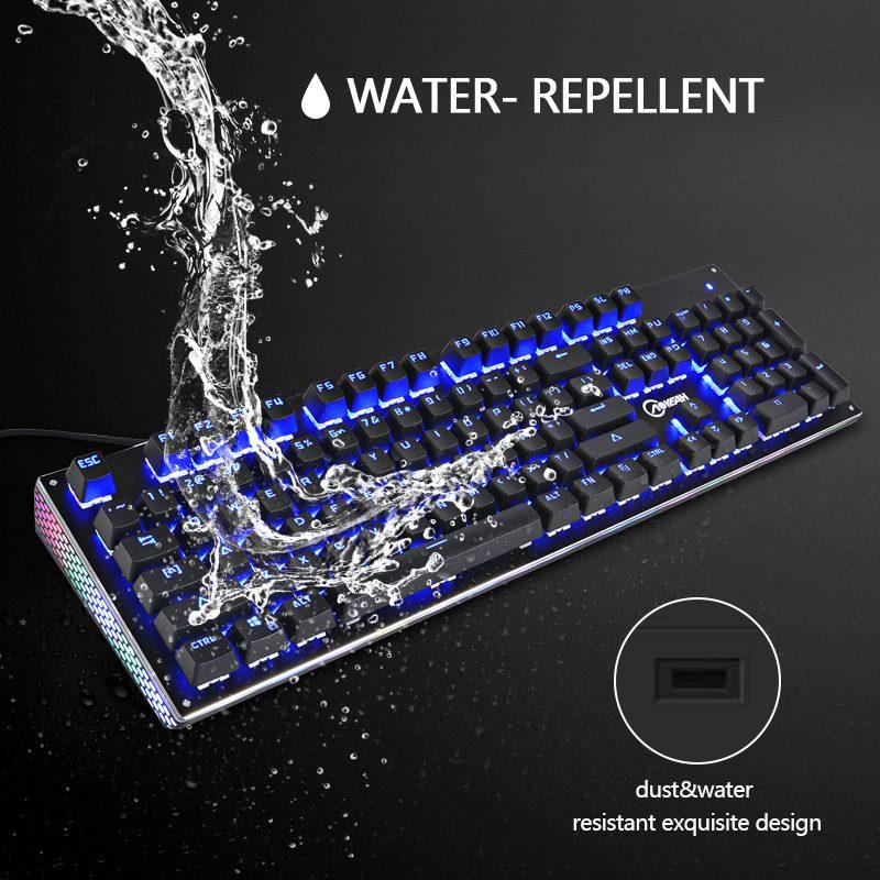 Elite RGB Gaming Keyboard Water Repellent