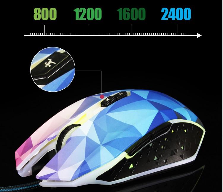 OGG Diamong Gaming Mouse 2400 DPI