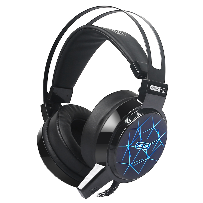 OGG High quality C13 Headphone black with led light