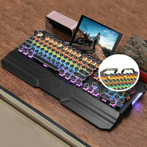 OGG - Retro-Z Typewriter Mechanical Gaming Keyboard 2019 convenient