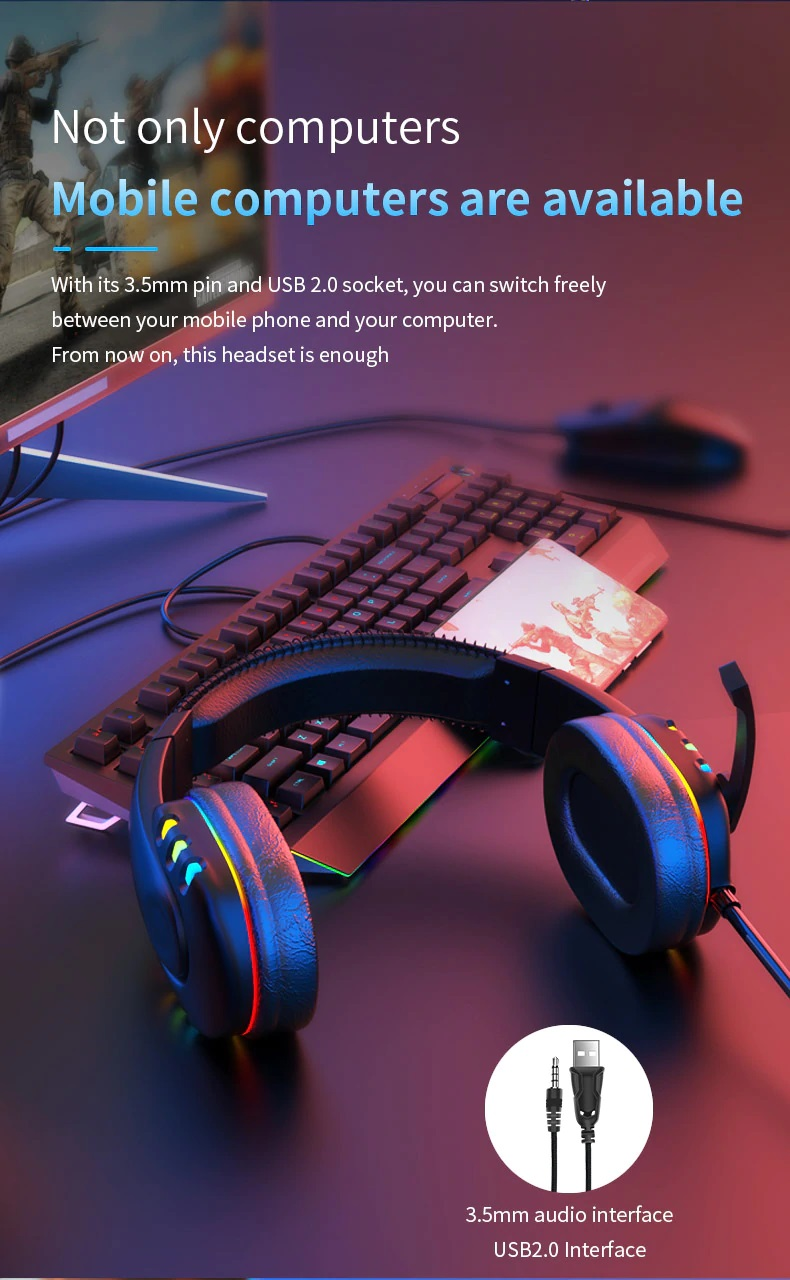OGG Pro gaming headset not only pc